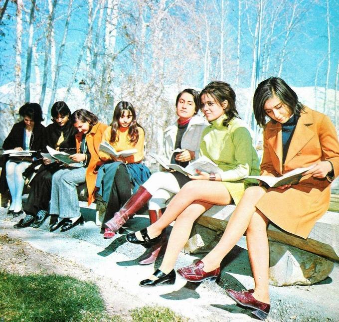 Cuộc sống người Iran những năm 1970