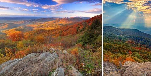 Điểm ngắm cảnh sắc mùa thu tuyệt xa sỉ nước Mỹ