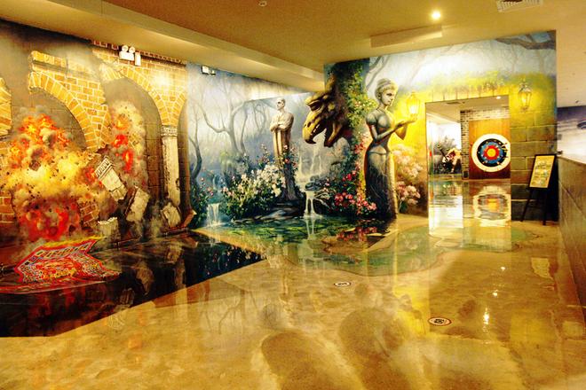 Bảo tàng tranh 3D đầu tiên ở Sài Gòn