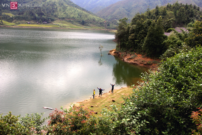 Hồ nước nhân tạo cao nhất Việt Nam