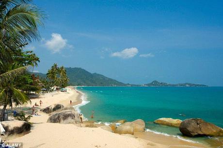 bãi biển Lamai, Tambon Mared. Ảnh: Alamy