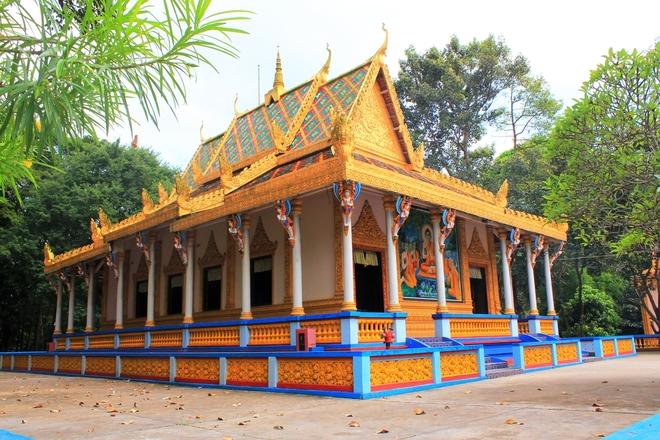 Vẻ đẹp của những ngôi chùa cổ miền Tây Nam Bộ