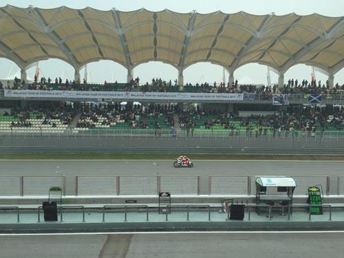 Trận đua xe như xé toạc màng nhĩ ở Malaysia