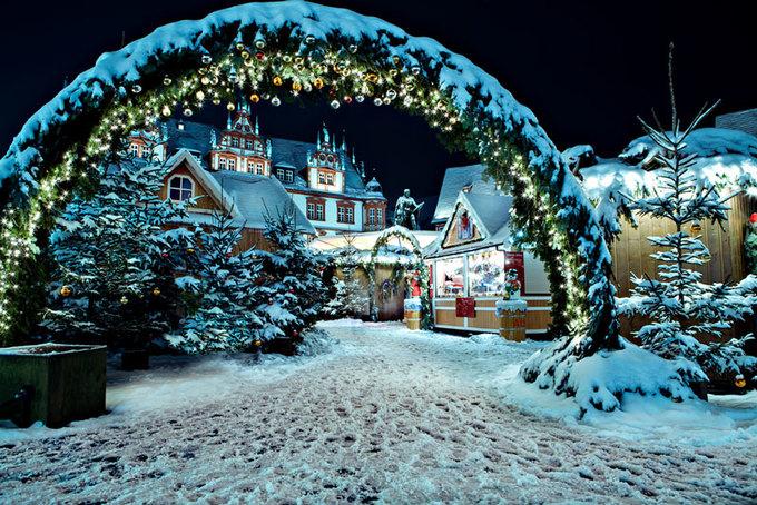 Những thành phố lý tưởng để đón Giáng sinh