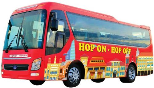 Dich vu xe buyt Hop on Hop off xuat hien o TP HCM