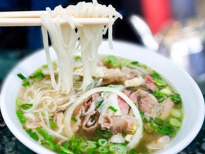 Phở Việt vào top món ăn đáng nhớ
