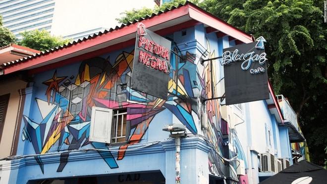 Khu phố 'ăn ảnh' nhất ở Singapore