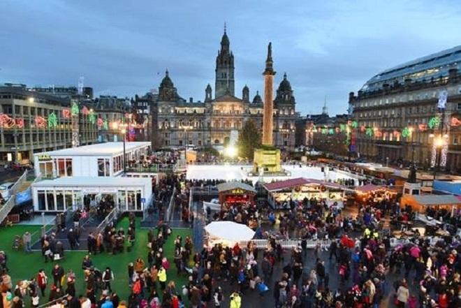 Những khu chợ Giáng sinh nổi tiếng ở Anh