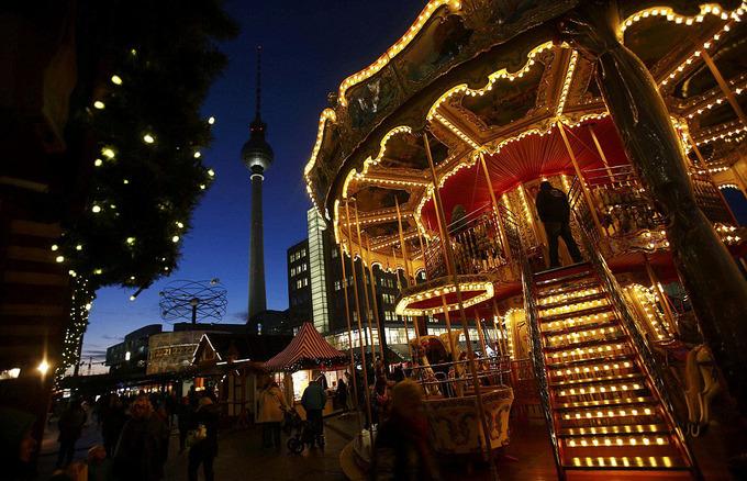 Berlin mở hội chợ Giáng sinh lộng lẫy