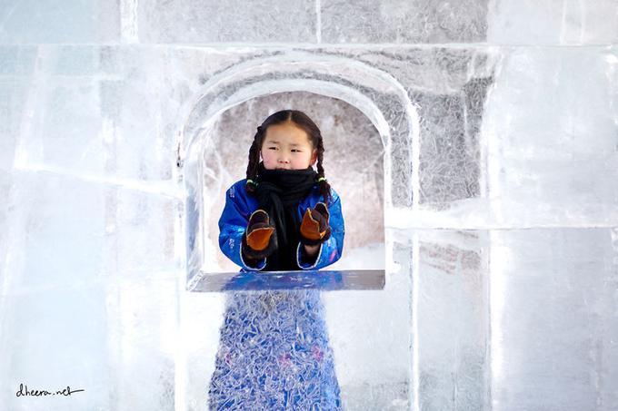 Mùa đông trắng trên thảo nguyên Mông Cổ