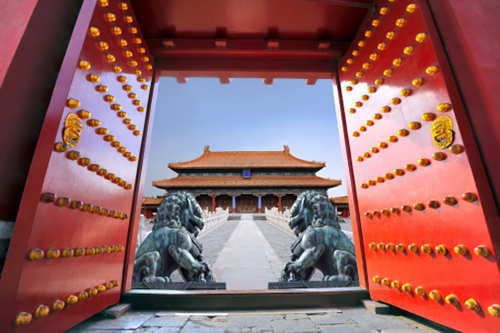 Forbidden City is one of the places to go in Beijing.