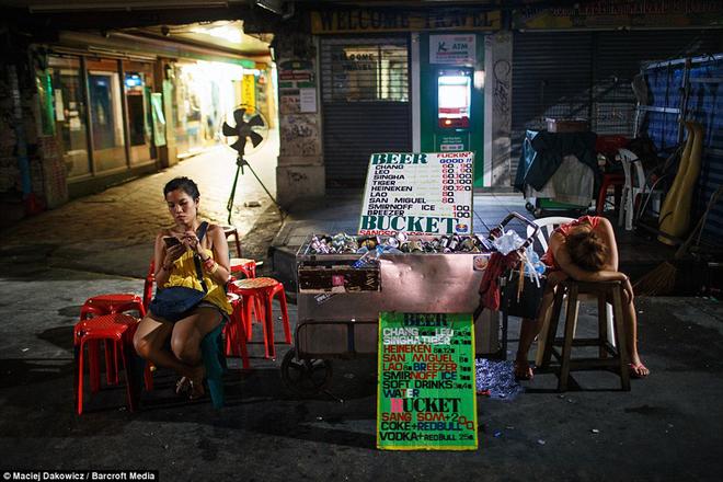 Nightlife West neighborhood in Bangkok