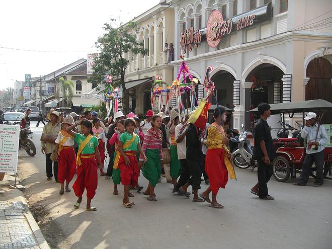 Lễ hội đón năm mới của các nước châu Á