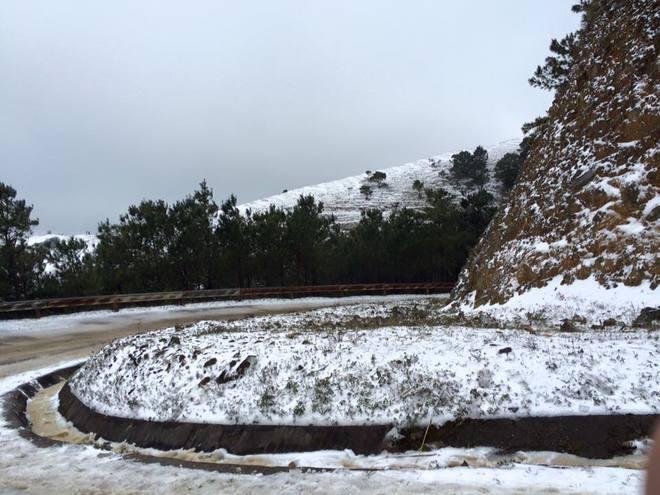 Mùa đông phương Bắc trên đỉnh Mẫu Sơn