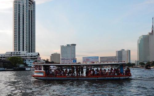 Chùa Chee Chin Khor địa điểm phượt hấp dẫn nằm dọc sông ở Bangkok