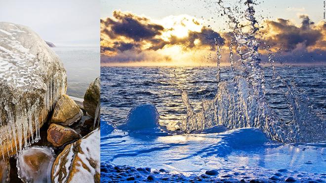 Baikal - hồ nước cổ nhất thế giới