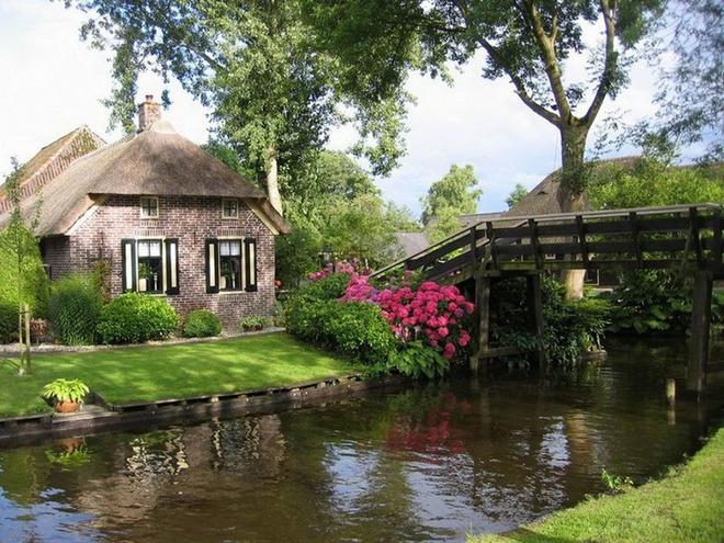 Ngôi làng không có lối đi ở Hà Lan