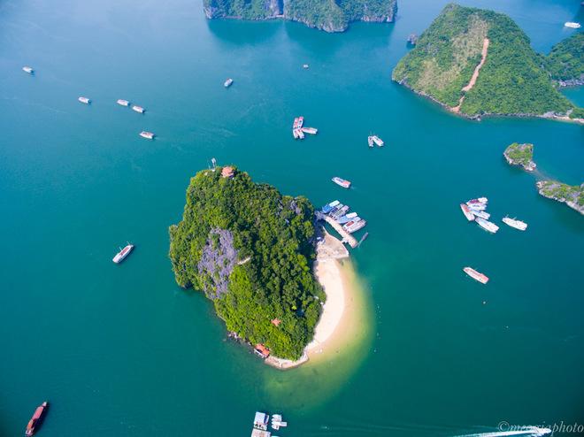 Vịnh Hạ Long - bối cảnh phim Kong: Skull Island nhìn từ trên cao 2