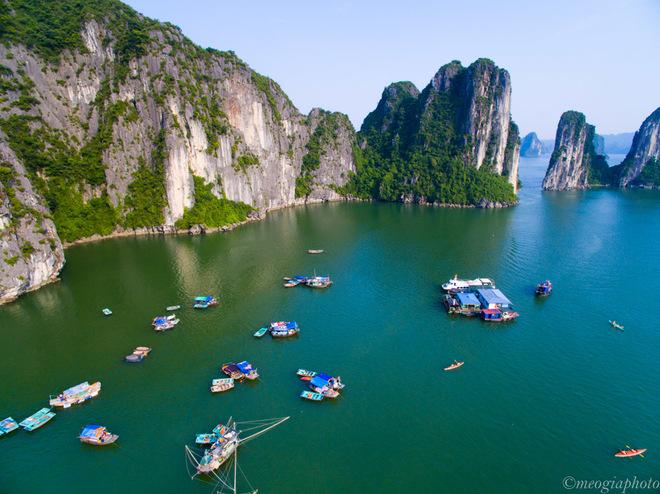 Vịnh Hạ Long - bối cảnh phim Kong: Skull Island nhìn từ trên cao 5