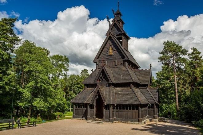 Những nhà thờ gỗ đẹp tinh xảo ở Na Uy