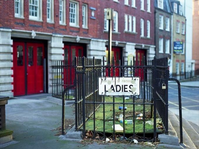 Nhà vệ sinh công cộng thời Victoria ở London