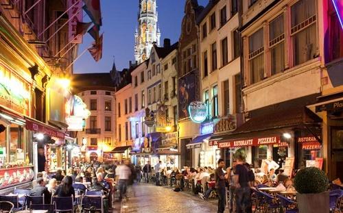 Trước vụ khủng bố ngày 22/3, Brussels luôn là một thành phố yên bình của xứ sở chocolate.