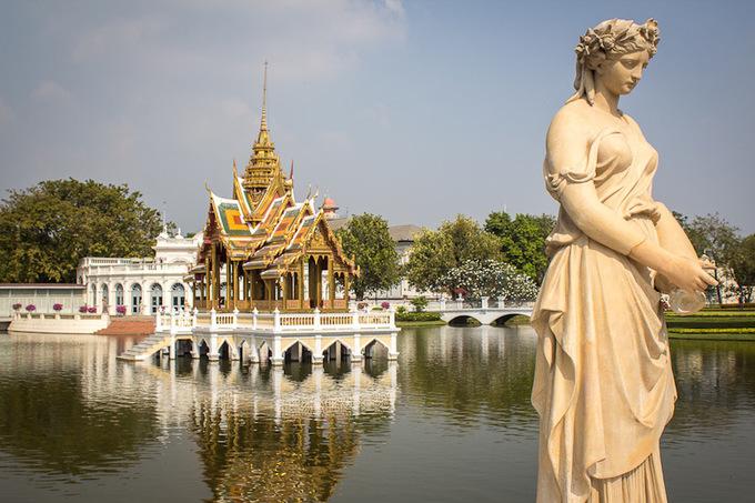 Câu chuyện thương tâm trong Cung điện Mùa hè ở Thái Lan