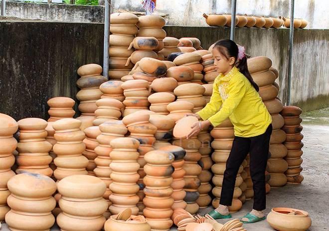 Làng nghề làm nồi đất duy nhất ở xứ Nghệ