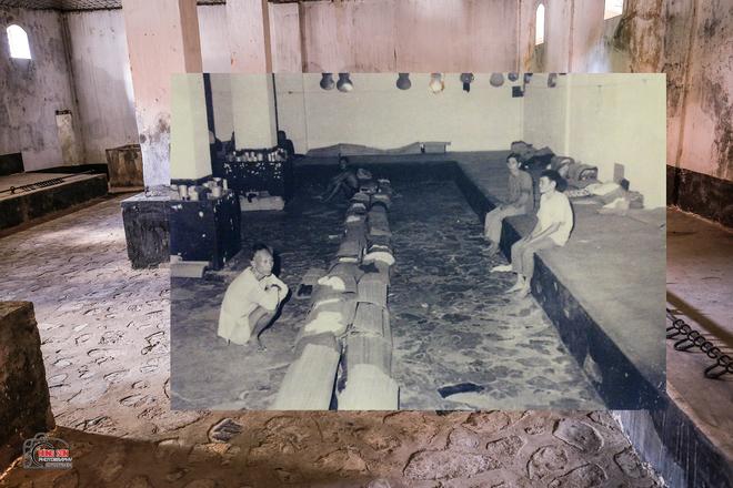 Bộ ảnh ghép Côn Đảo xưa và nay