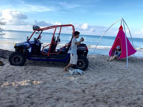 Điểm cắm trại dễ thương trên bãi biển Kê Gà - ảnh 9