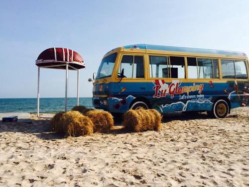 Điểm cắm trại dễ thương trên bãi biển Kê Gà - ảnh 6