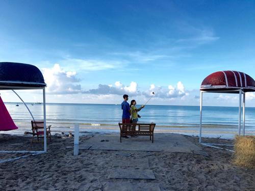 Điểm cắm trại dễ thương trên bãi biển Kê Gà - ảnh 7
