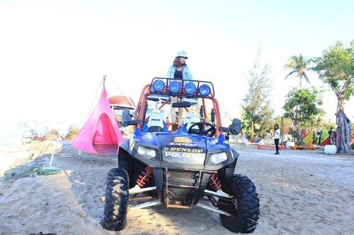 Điểm cắm trại dễ thương trên bãi biển Kê Gà - ảnh 8