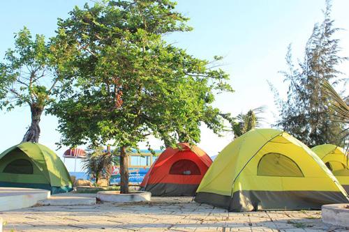 Điểm cắm trại dễ thương trên bãi biển Kê Gà - ảnh 4