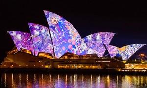 Sydney lung linh trong lễ hội ánh sáng