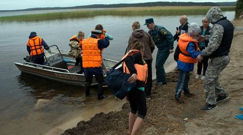 Công tác cứu hộ tại hồ Syamozero, Cộng hòa