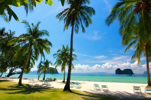 Trài dài tại bờ biển Andaman ngoài xa miền Nam Thái Lan, đảo Trang sở hữu nét đẹp nguyên sơ cuốn hút lòng người.