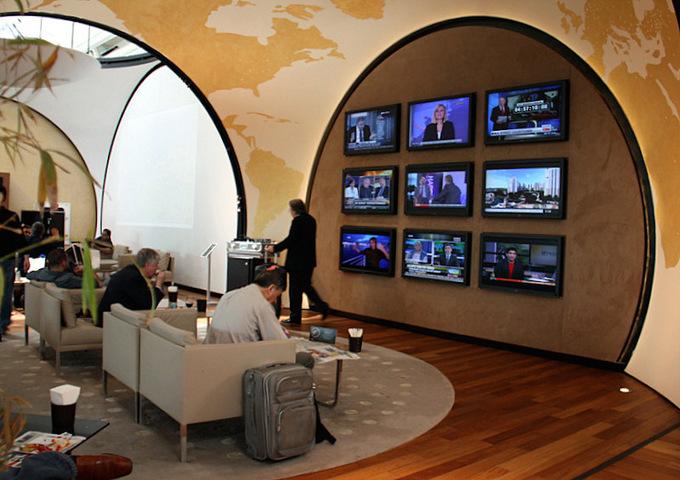 Bên trong phòng chờ đẹp nhất thế giới ở sân bay Thổ Nhĩ Kỳ