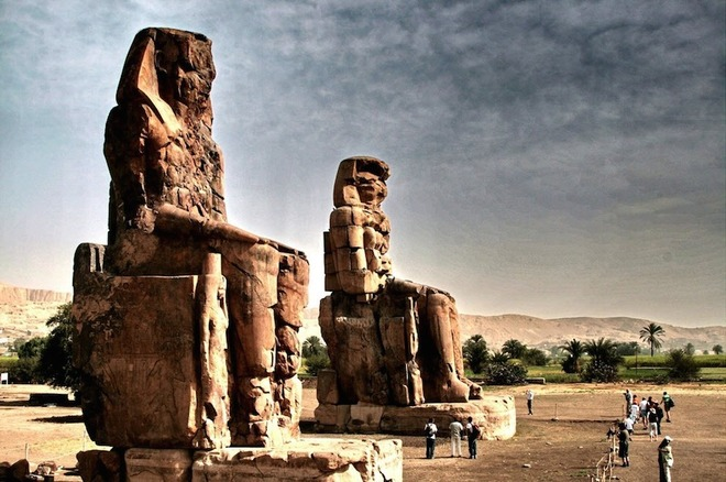 Bí ẩn tượng đá biết hát bên bờ sông Nile