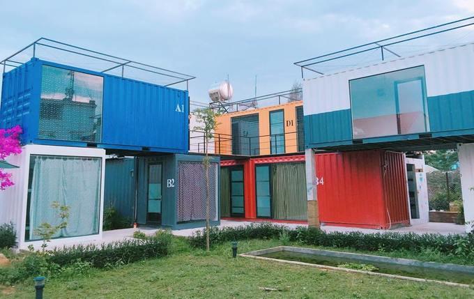 Khách sạn container giá 180.000 đồng một đêm ở Đà Nẵng