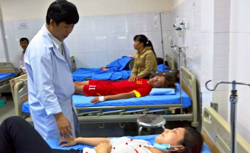 Hơn 70 du khách bị ngộ độc thực phẩm ở Bình Thuận