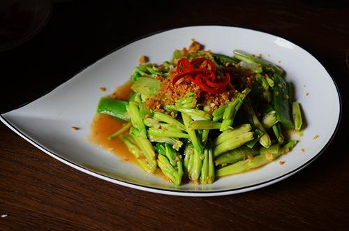 Món ăn rất thích hợp với những người ăn chay hoặc chuộng các món rau. Ảnh: Phong Vinh