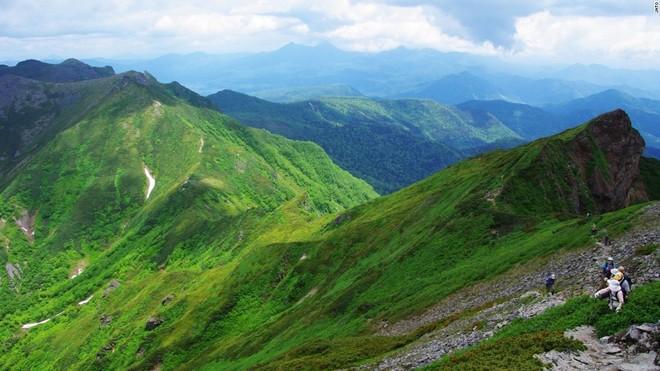 10 ngọn núi hùng vỹ nhất Nhật Bản