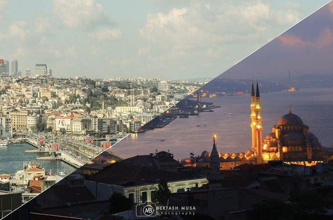 Vẻ cuốn hút của Istanbul ngày và đêm