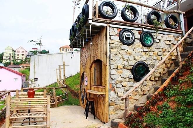 Đi nghỉ 'như ở nhà' tại biệt thự gỗ ở Đà Lạt