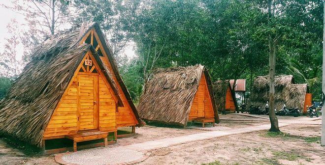 Cắm trại với lều du mục bên bờ biển Vũng Tàu