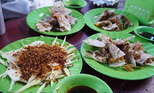 Món ăn vặt ở Quy Nhơn