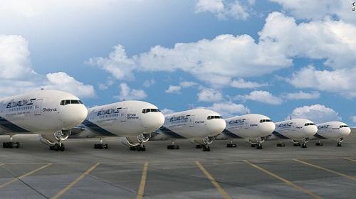 Hãng El Al lưu ý đến bản đồ khi đặt tên máy bay. Ảnh: CNN.