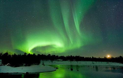 Khách sạn Phần Lan tuyển nhân viên thức đêm chờ Bắc cực quang