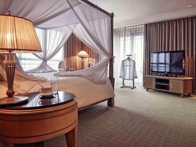 Phòng khách sạn Tổng thống Pháp nghỉ ở TP HCM